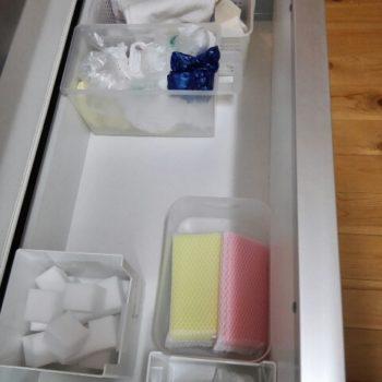 キッチン用品の入った引き出し